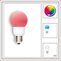 Żarówka LED Paulmann Globe 60 Multicolor (7 barw) 1W E27 28020