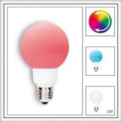 Żarówka LED Paulmann Globe 80 Multicolor (7 barw) 1W E27 28018