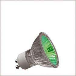 Żarówka halogenowa Paulmann True Colour GU10 50W zielona 83623