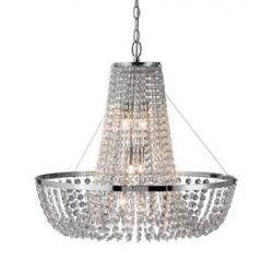 Lampa wisząca Markslojd Jarlsberg K9 chrom 101814