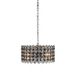 Lampa wisząca Markslojd Lindo 3 czarny chrom 101812