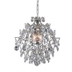 Lampa wisząca Markslojd Mariedal K9 chrom 100520