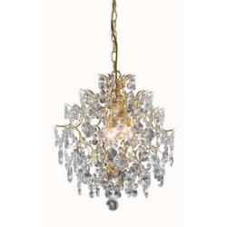 Lampa wisząca Markslojd Mariedal K9 3x40W złota 100519