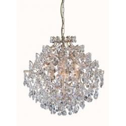 Lampa wisząca Markslojd Mariedal K9 6x40W złota 100529