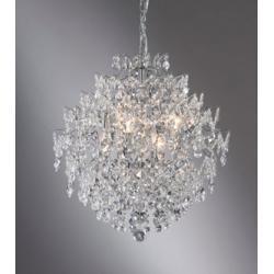 Lampa wisząca Markslojd Rosendal K5 6x40W chrom 100533
