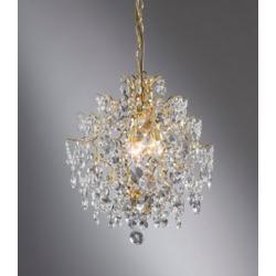 Lampa wisząca Markslojd Rosendal K5 3x40W złota 100524