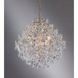 Lampa wisząca Markslojd Rosendal K5 6x40W złota 100532