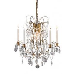 Lampa wisząca Markslojd Ryholm K5 antyk 100591