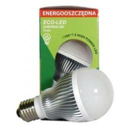 Żarówka 5 LED Eco-Led E27 180st biała 240lm 9536