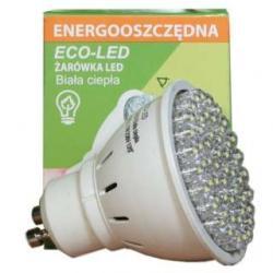 Żarówka 54 LED Eco-Led GU10 60st biała 250lm 1318