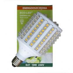 Żarówka 128 LED Eco-Led E27 360st Ciepła 1450lm