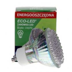 Żarówka 80 LED Eco-Led 80 LED GU10 60st Ciepła 140lm