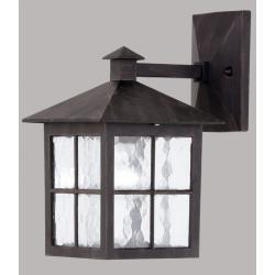 Lampa ścienna Paul Neuhaus Krimhild kwadrat rdzawy