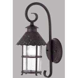 Lampa ścienna Paul Neuhaus Krimhild koło rdzawy
