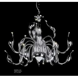 Lampa wisząca Italux Swan chrom MD8098-18A