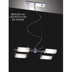 Lampa wisząca Italux Mizar MD4202-4A