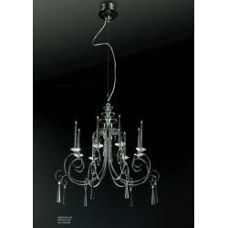 Lampa wisząca Italux Candle MD62503-8A