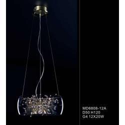 Lampa wisząca Italux Ring MD6808-12A