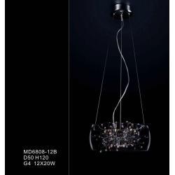 Lampa wisząca Italux Ring MD6808-12B