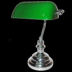 klosz do lampy bankierskiej zielona mała