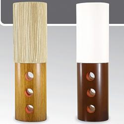 Lampa stołowa drewniana ze ściemniaczem Kaja K-MT68395