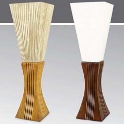 Lampa stołowa drewniana ze ściemniaczem Kaja K-MT6898