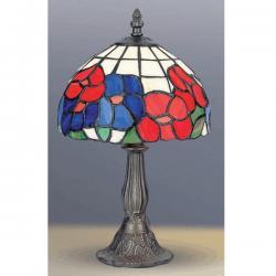 Lampa witrażowa stołowa Kaja Tiffany K-G081064
