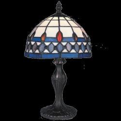 Lampa witrażowa stołowa Kaja Tiffany K-G081119