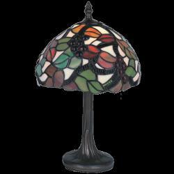 Lampa witrażowa stołowa Kaja Tiffany K-G081303
