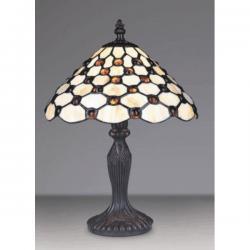 Lampa witrażowa stołowa Kaja Tiffany K-G10941