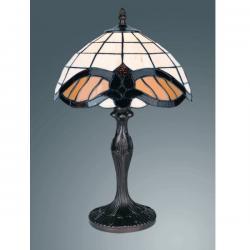 Lampa witrażowa stołowa Kaja Tiffany K-G121122