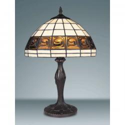 Lampa witrażowa stołowa Kaja Tiffany K-G121251