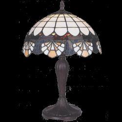 Lampa witrażowa stołowa Kaja Tiffany K-G121325