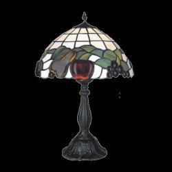 Lampa witrażowa stołowa Kaja Tiffany K-G121550