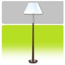 Lampa podłogowa drewniana Kaja K-ML6803