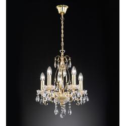 Lampa sufitowa Paul Neuhaus Casta złoto antyczne