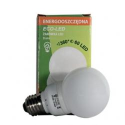 Żarówka 60 LED ECO-LED E27 B60 mleczna biała 250lm