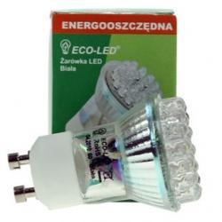 Żarówka 30 LED ECO-LED GU11 60st biała 75lm