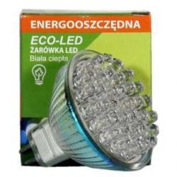 Żarówka 36 LED Eco-Led MR16 60st ciepła 70lm 9338