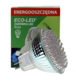Żarówka 80 LED Eco-Led 12V MR16 120st biała 160lm 1509