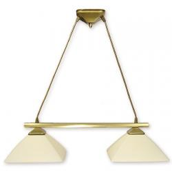 Lampa wisząca Lemir Krzyżak patyna 972LS/W2
