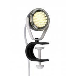 Lampka biurkowa LeuchtenDirekt Podgy 30xLED czarna