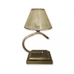 Lampka stołowa Lemir Portos Abażur oliwkowy O1348/L1