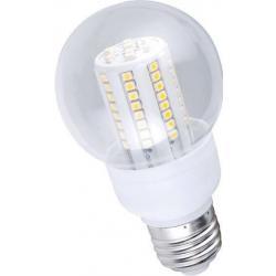Żarówka 72 LED High Luminance SMD Ecolighting ciepła E27-B60-C-72SMD 230V