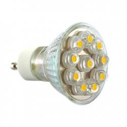 Żarówka 10 LED Ecolighting ciepła GU10-C-10HP8mm 230V