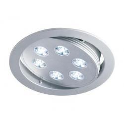 Lampa sufitowa 6 LED Ecolighting zimna biała