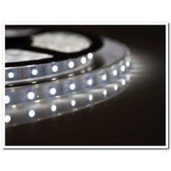 Taśma LED Ecolighting biała zimna wodoodporna (rolka 5m)