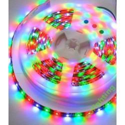 Taśma LED Ecolighting RGB 60led/m wodoodporna (rolka 5m)