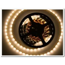 Taśma LED Ecolighting biała ciepła 60led/m wodoodporna (rolka 5m)