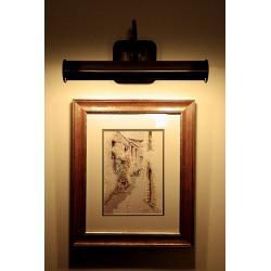 Kinkiet obrazowy Lemir oliwka O1351 OLZ